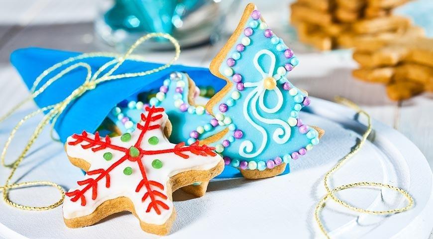 креативные печенья на новый год