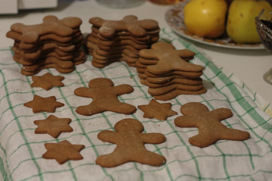 печенья разных форм