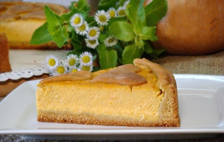 порция тыквенного пирога