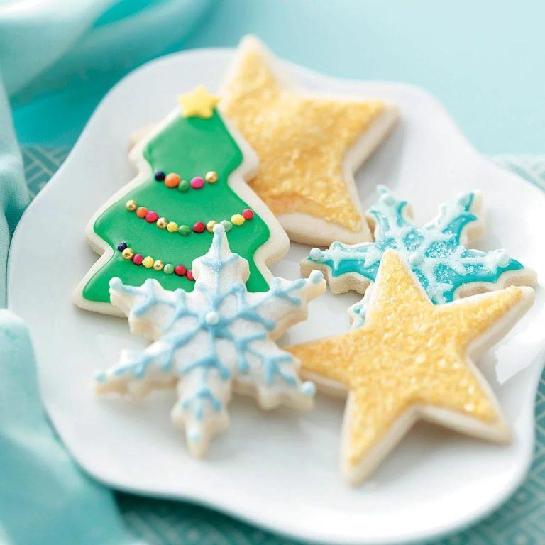 самодельное печенье на новый год