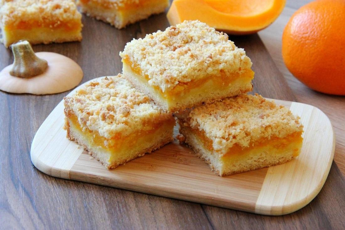 Пирог из тыквы с творогом в духовке быстро и вкусно: рецепты с фото