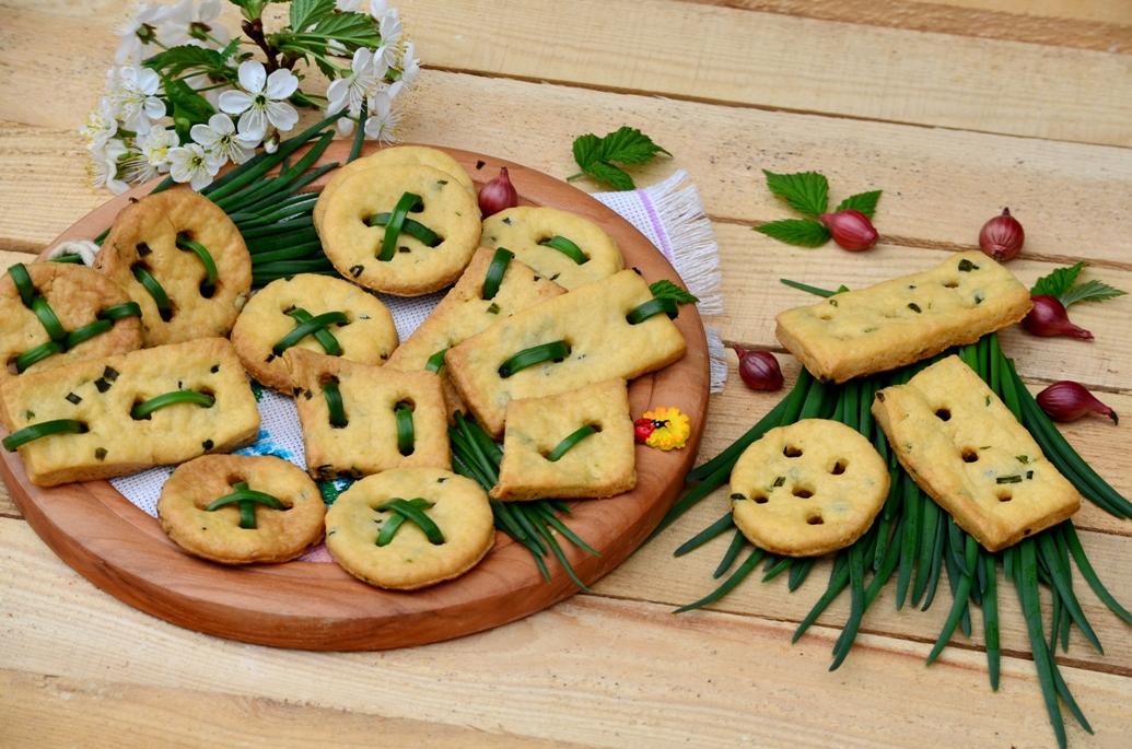 необычное закусочное печенье