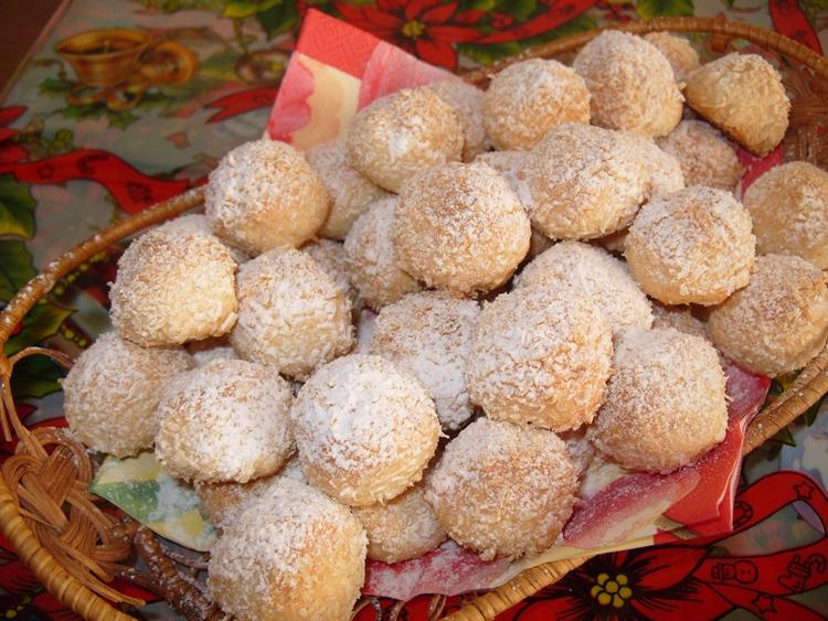 печенья в форме шариков