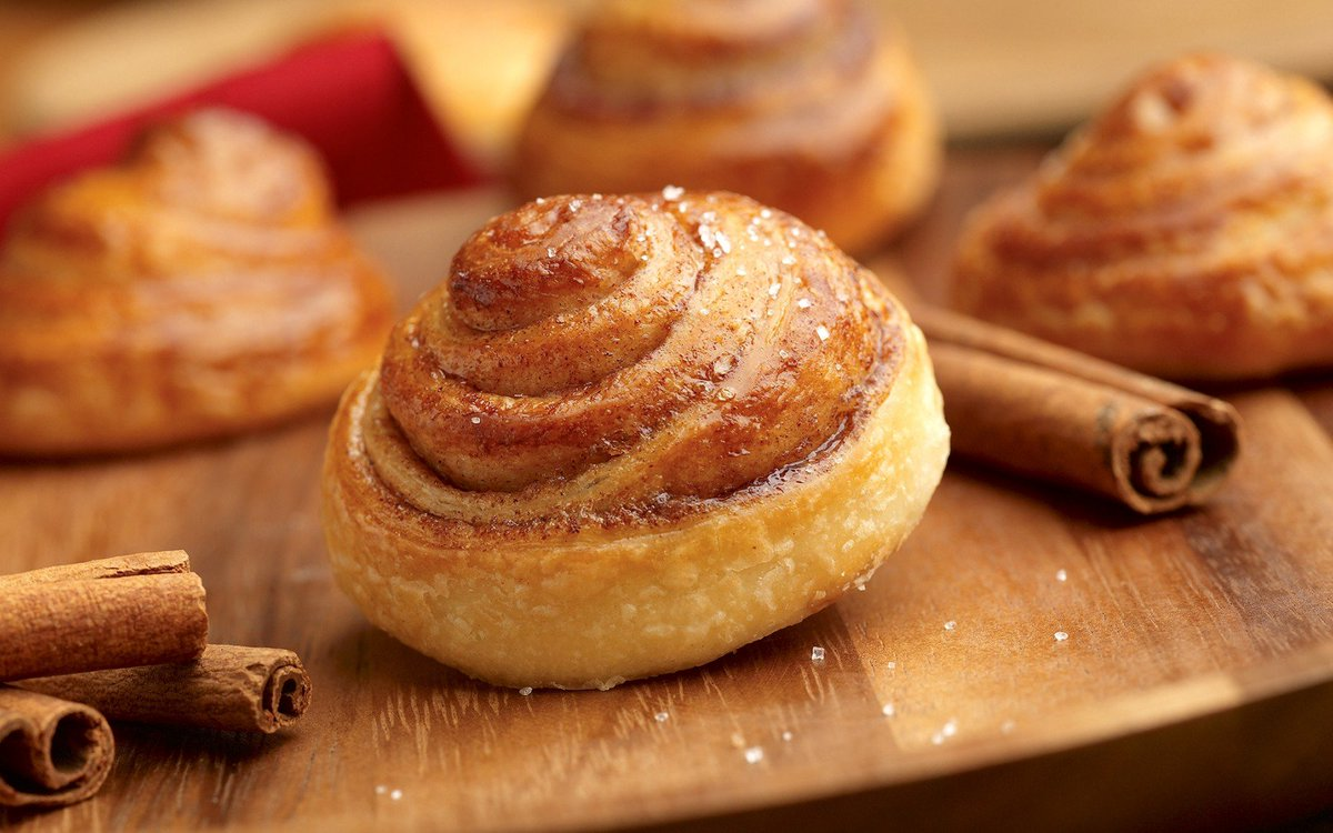 французские булочки с корицей