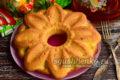 апельсиновый кекс в духовке на Рождество