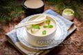 банановое суфле без выпечки с желатином