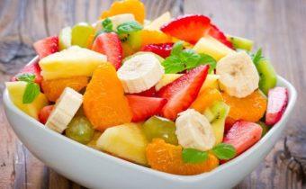 фруктовые салаты для детей