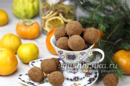 домашние конфеты из овсяных хлопьев