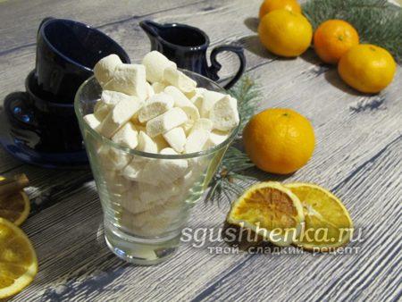 десерт без выпечки маршмеллоу