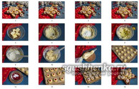 мастер класс печенья Курабье