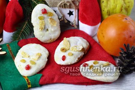 печенье «Мышата» на Новый год