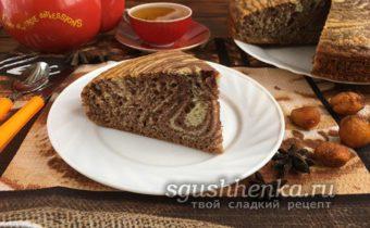 самый вкусный и легкий пирог Зебра
