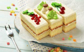 бисквитное пироженое