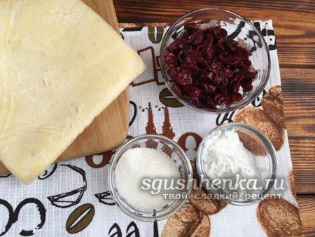 ингредиенты для штруделя