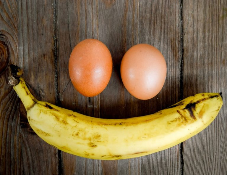 Диета яйцо бананы