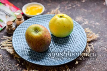 вымыть яблоки