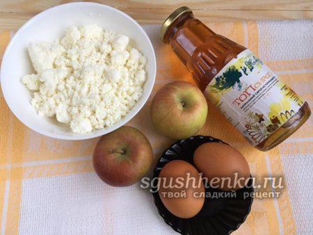 ингредиенты для творожного суфле