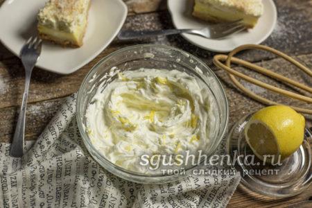 крем-чиз для торта со сливками