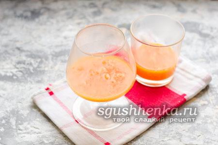 разлить по стаканам