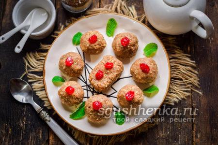 пирожное Минутка из печенья со сгущенкой