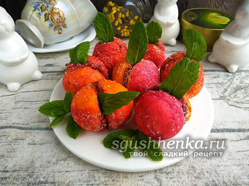 пирожное персики без сгущенки
