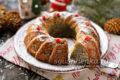 рождественский кекс с маком