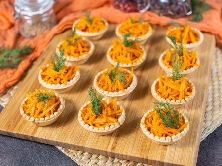 тарталетки морковь