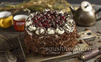 Торт Черный лес: классический рецепт