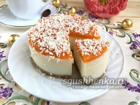 суфле с желатином для торта