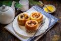 яблоки, запеченные в духовке, с медом, корицей и орехами