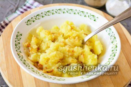 потолочь картофель