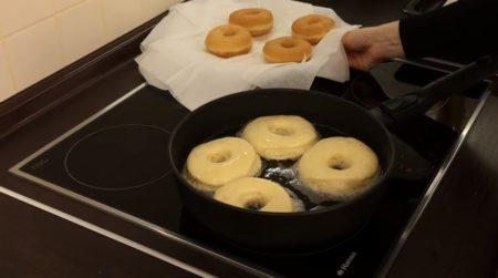 пончики на салфетки